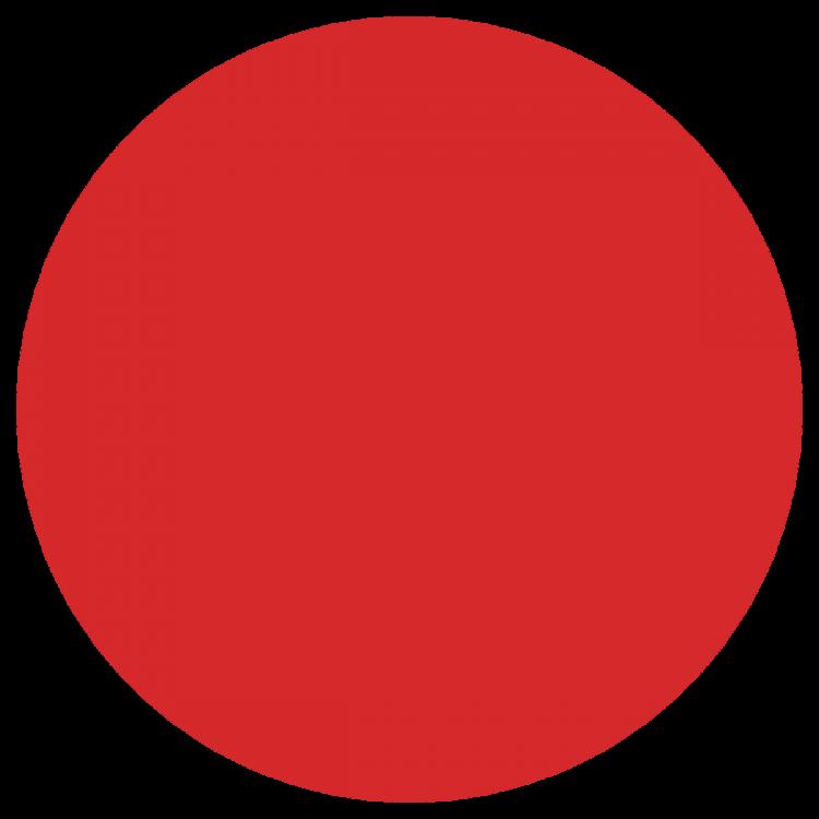 Картинка круг красного цвета